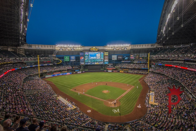 Miller Park.  Home of The Milwaukee Brewers MLB team.